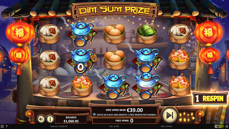 Dim Sum Prize Slot Teatime Wilds