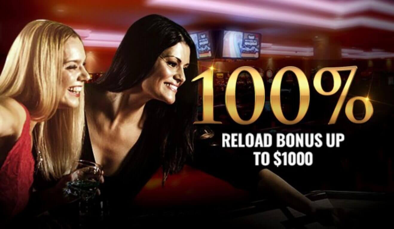MYB Casino reload bonus