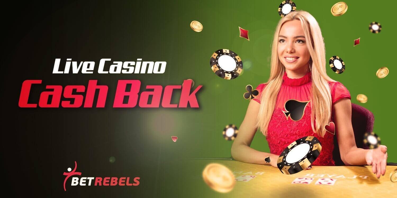betrebels casino cashback rewards