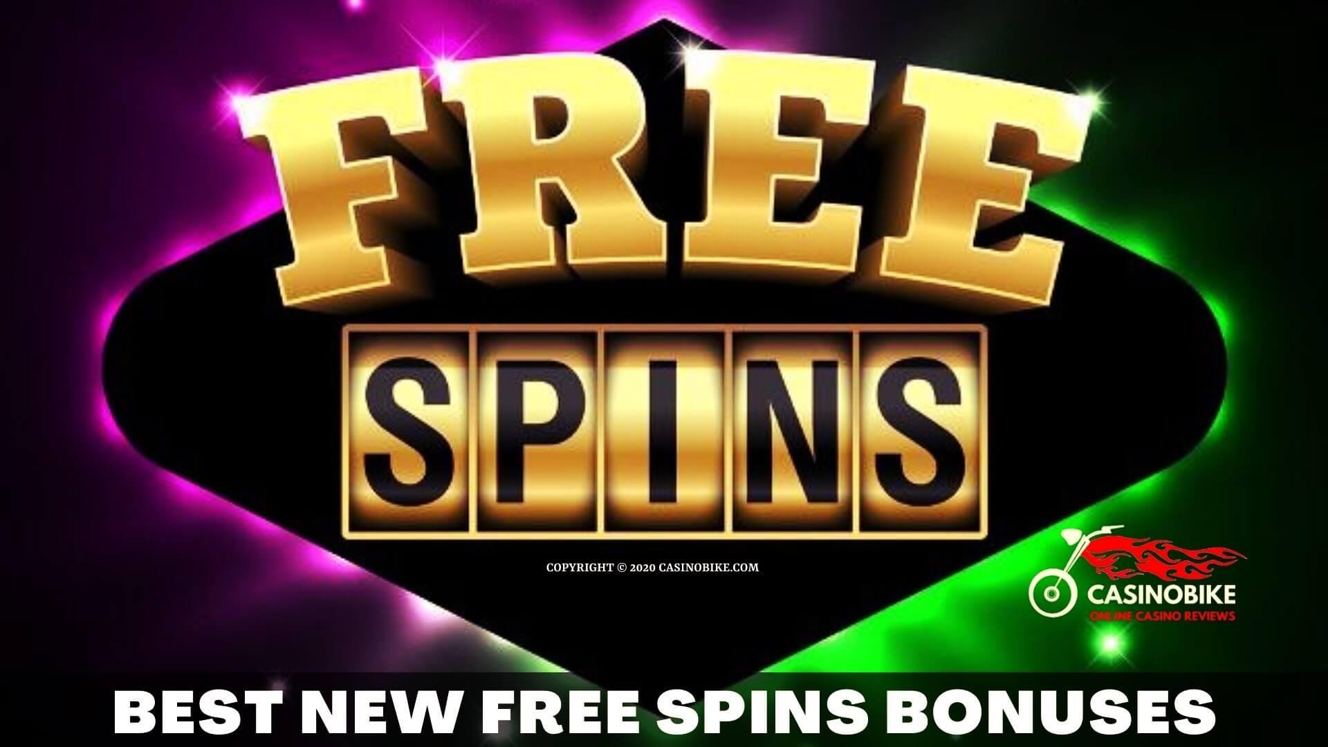 Best New Casino Free Spins Bonuses