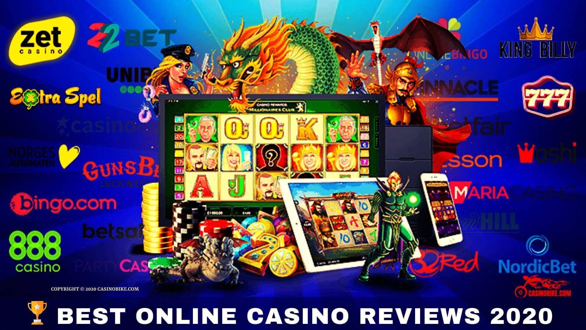 best online casino reviews 2020