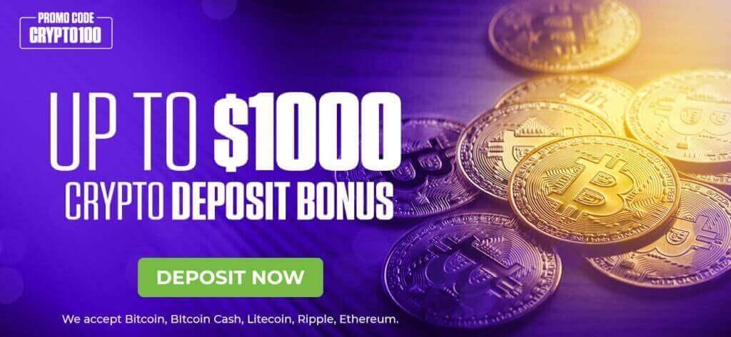 Mybookie Crypto Deposit Bonus