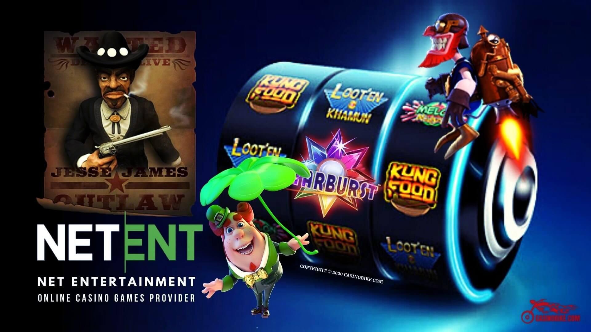 NetEnt Online Casino Slots Provider