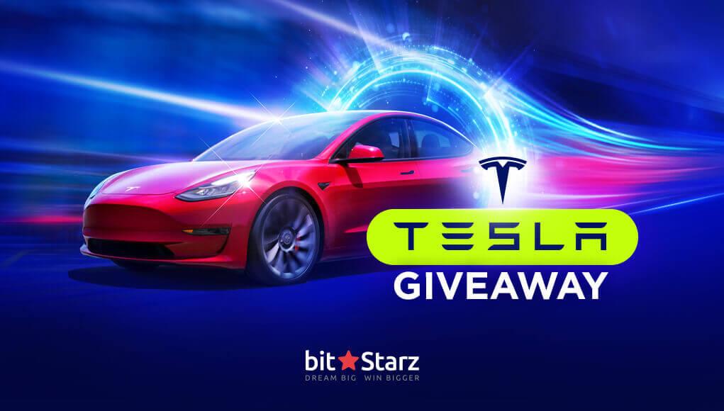 BitStarz Casino Win a Tesla Car