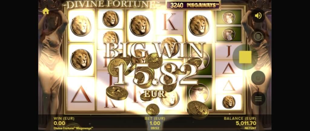 Divine Fortune MegaWays Slot Big Win