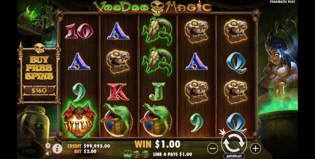 Voodoo Magic video slot from Pragmatic Play full review