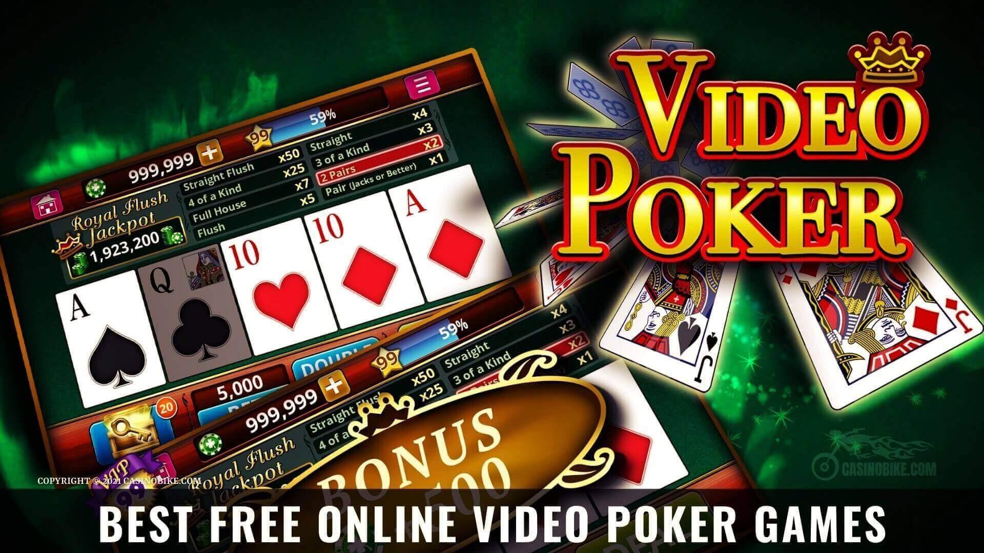 Best Free Online Video Poker Games