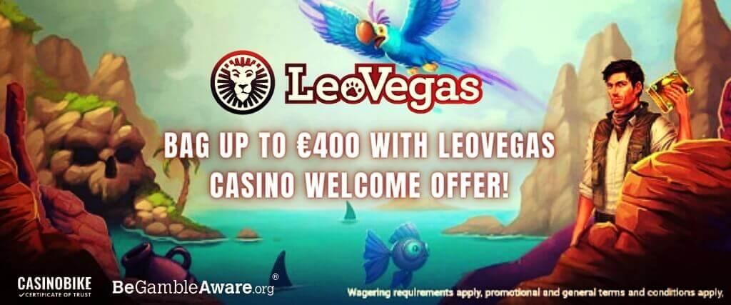 LeoVegas Casino Welcome Offer