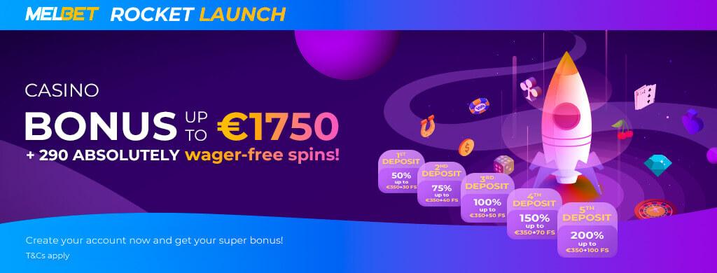MelBet Welcome Casino Bonus