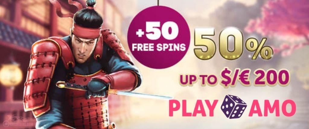 PlayAmo Casino Second Deposit Bonus