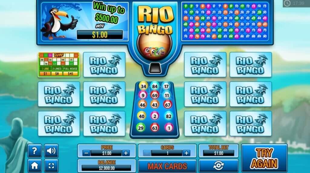 Rio Bingo Online Game Full Review