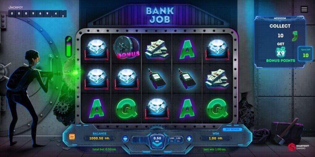 Bank Job Slot by SmartSoft Gaming Full Review