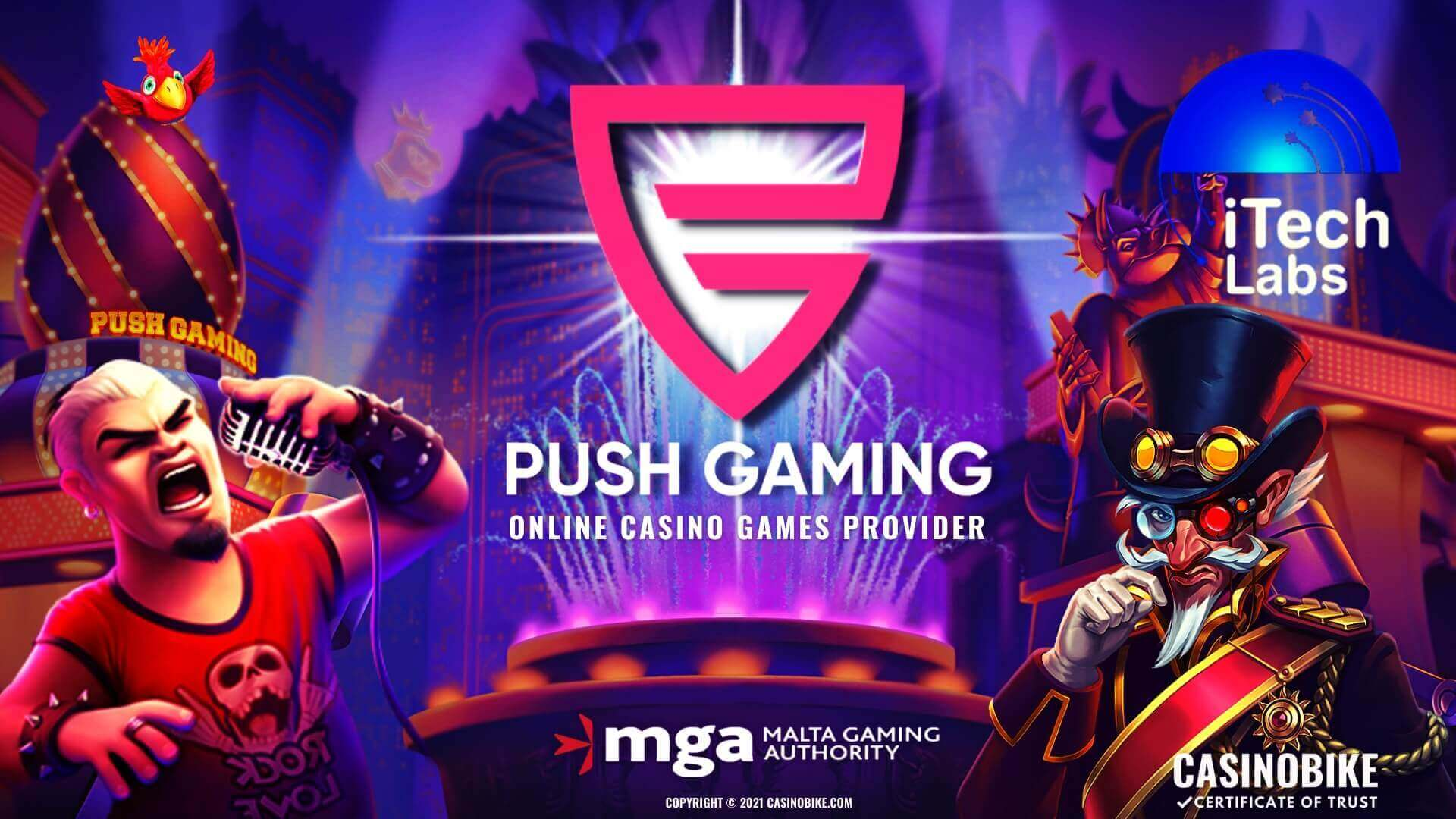 Push Gaming Online Casino Slots Provider