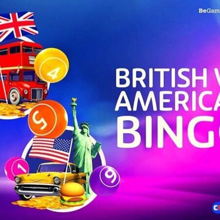 British vs. American Bingo