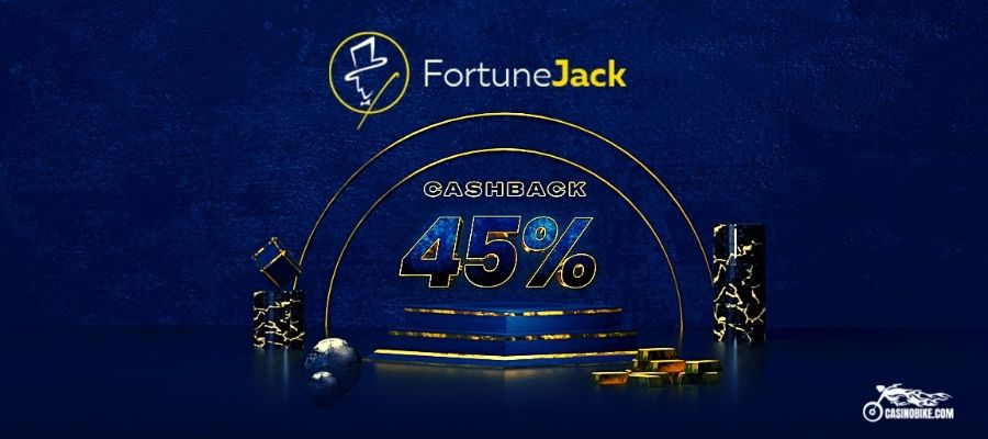 FortuneJack Casino 45% VIP Cashback