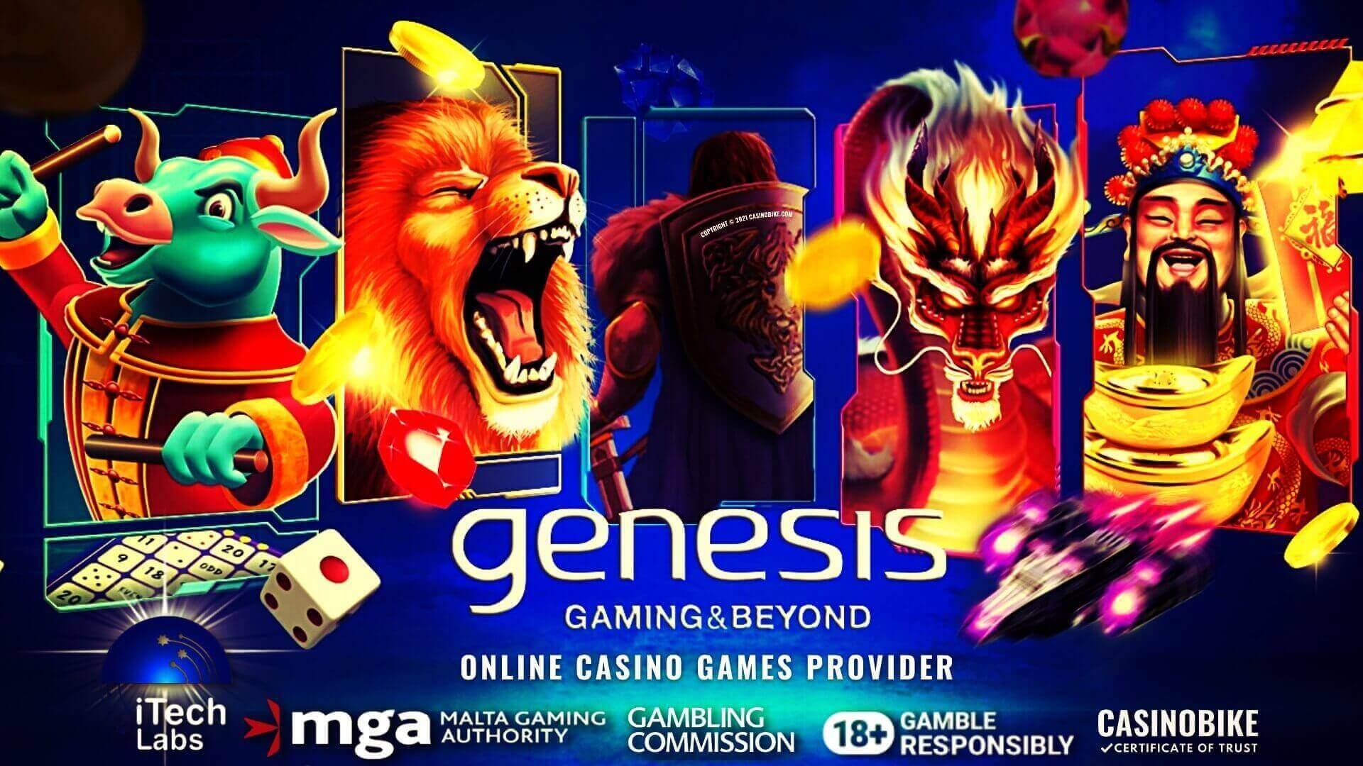 Genesis Gaming Online Casino Games Provider