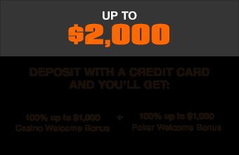 Ignition Casino Welcome Bonus $2000