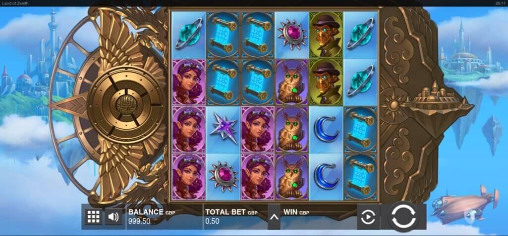 Land of Zenith Online Slot Full Review