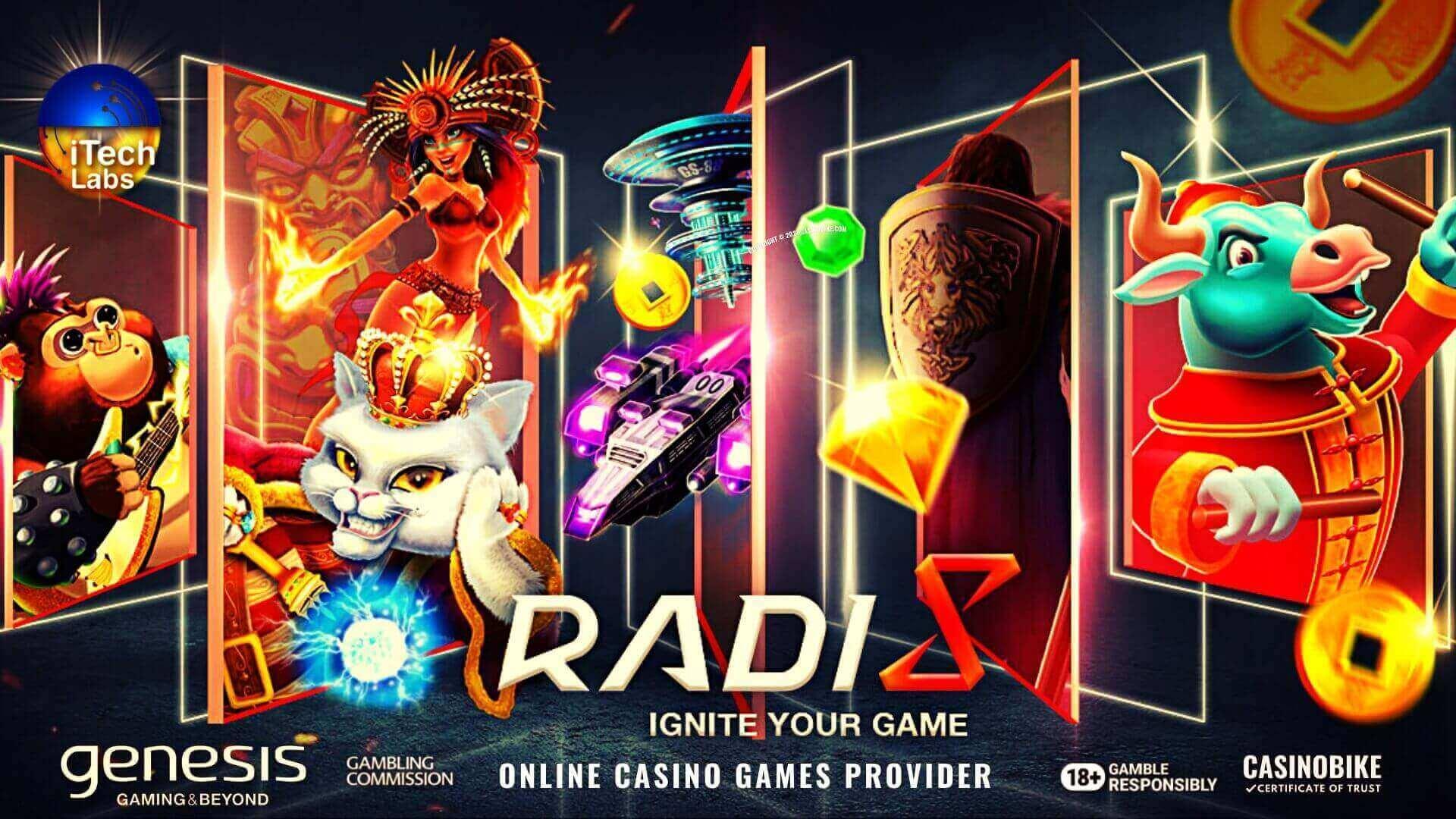 Radi8 Games Online Casino Games Provider