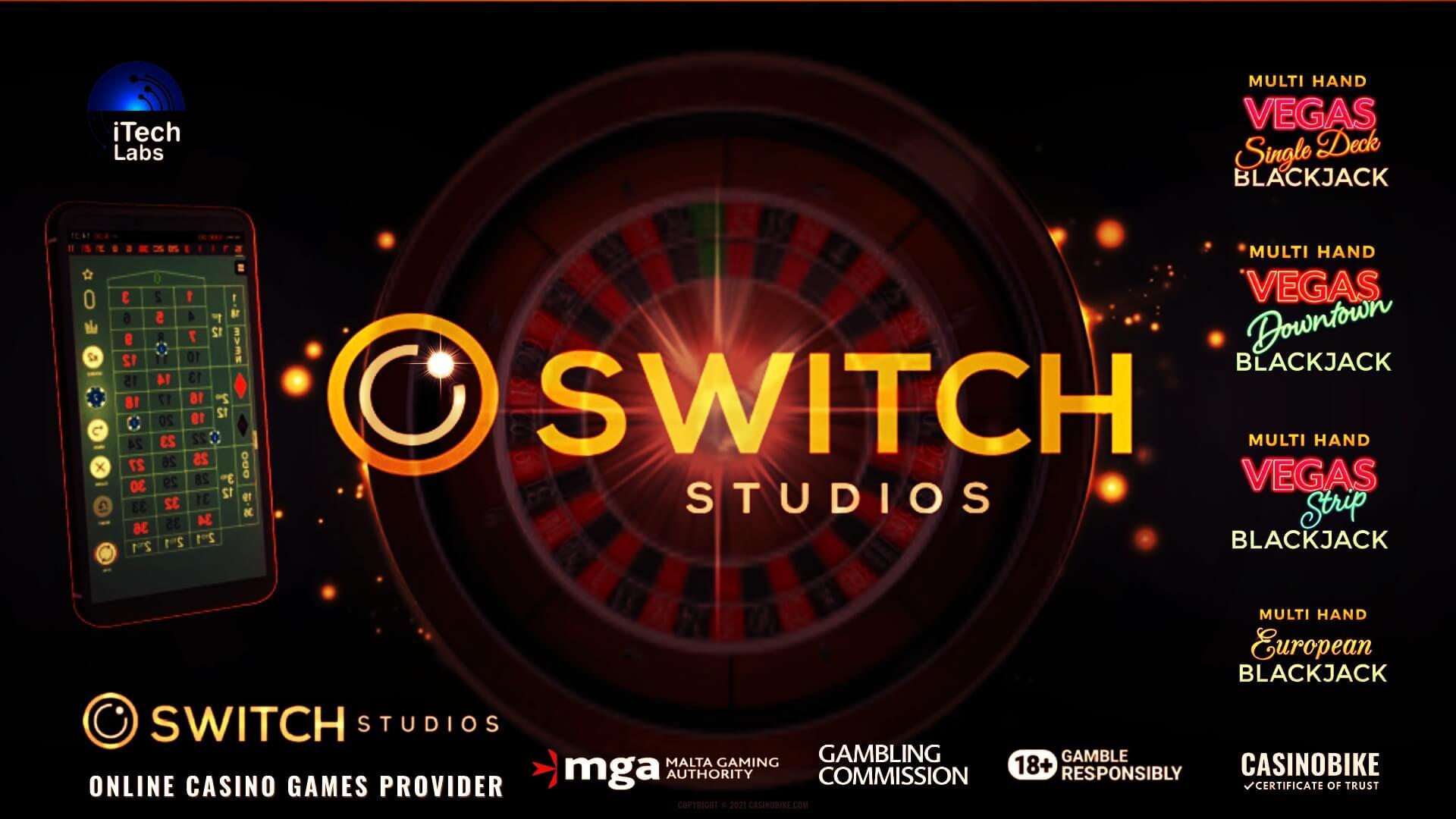 Switch Studios Online Casino Games Provider