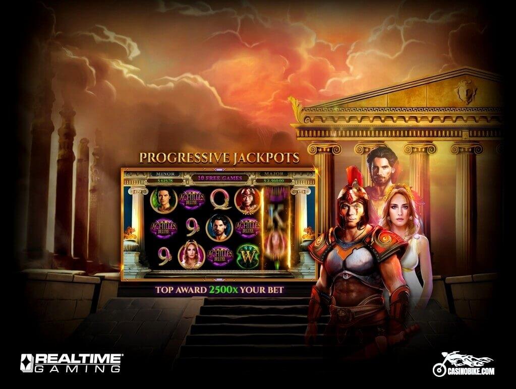 Achilles Deluxe Online Slot Machine by RTG