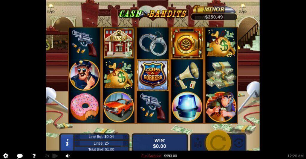 Cash Bandits Slot by RTG Review