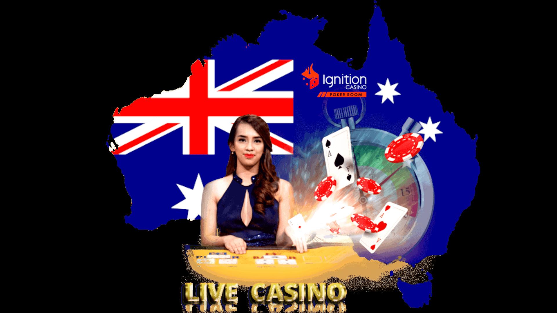 Ignition Live Dealer Online Casino Australia