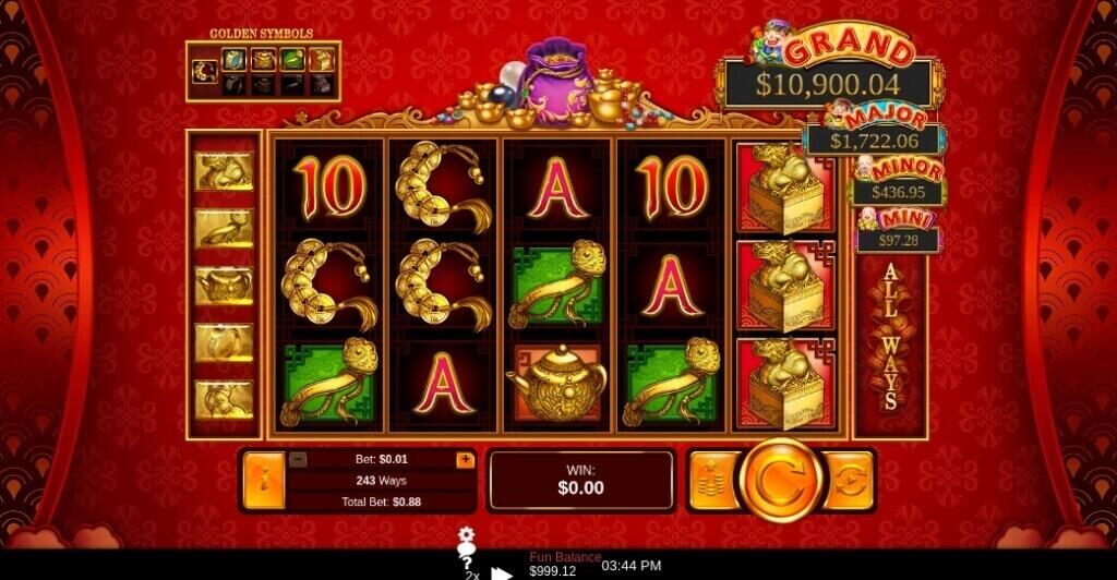 Plentiful Treasure Online Slot by RTG Review