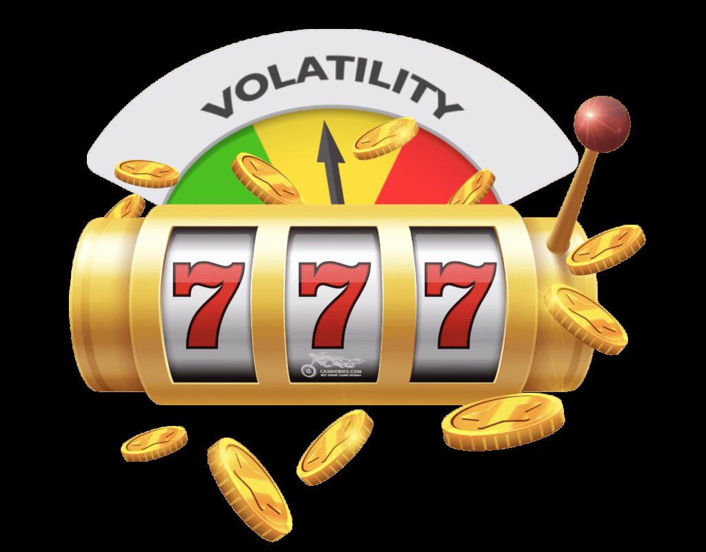 online slot volatility by casino bike
