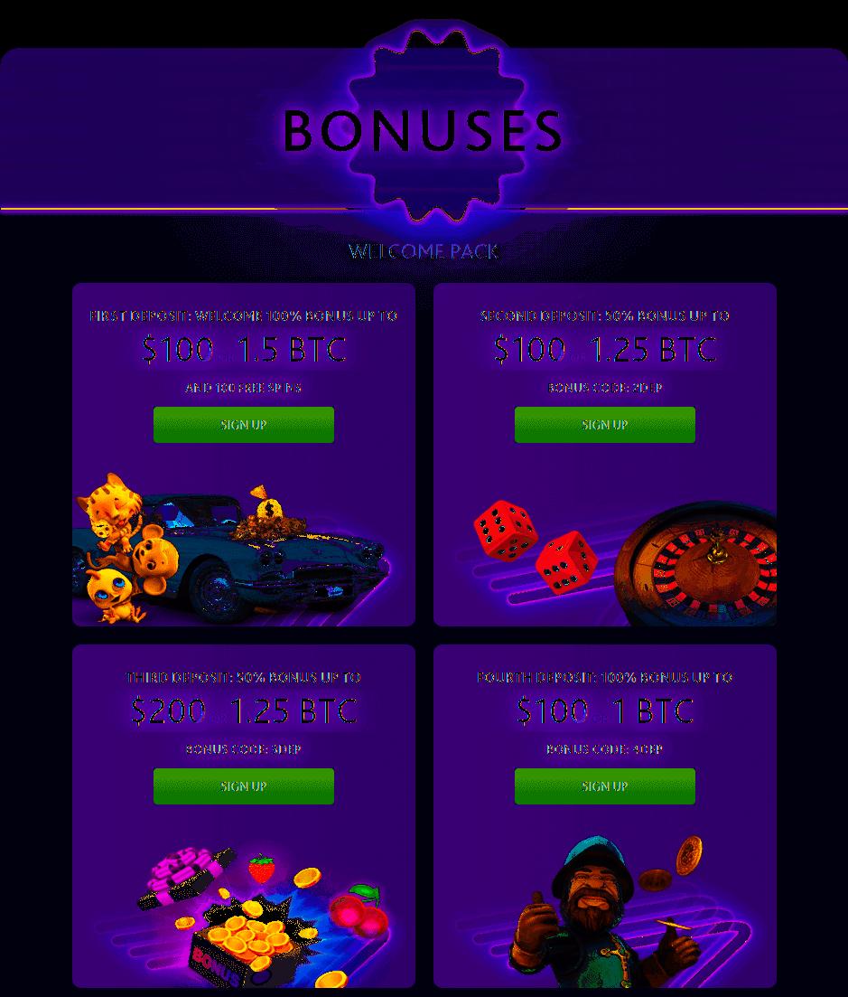 7BitCasino Bitcoins Bonus Casino Promo