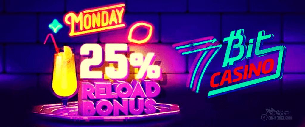 7BitCasino Reload Bonus