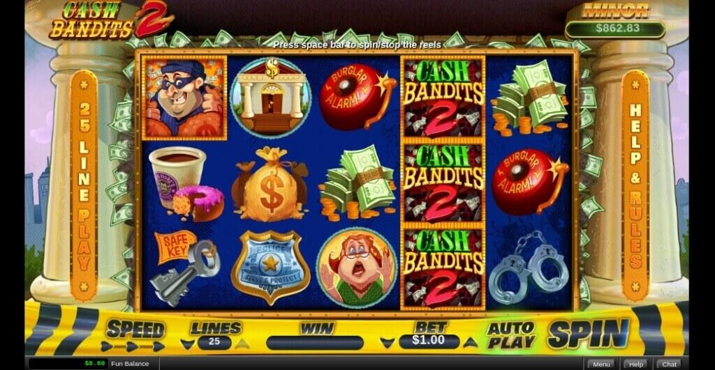 Cash Bandits 2 Slot by RTG Review