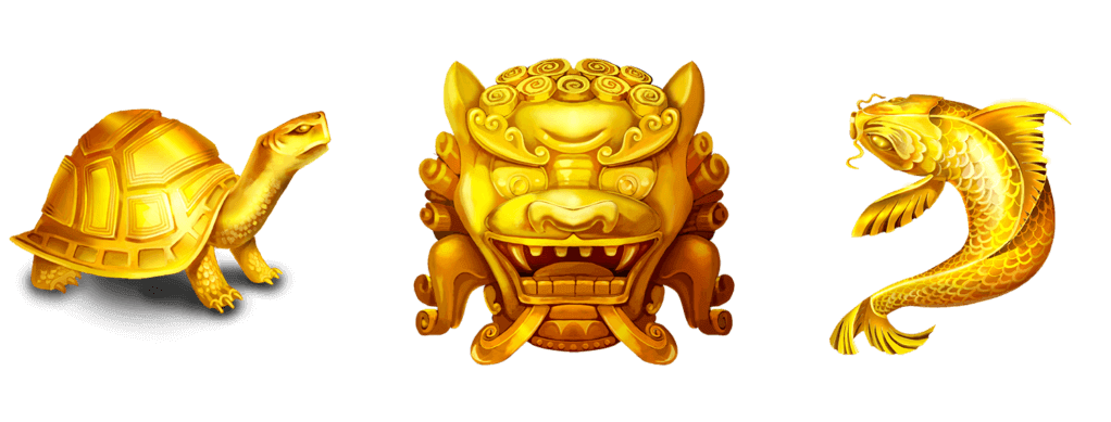 Eastern Emeralds Slot Symbols