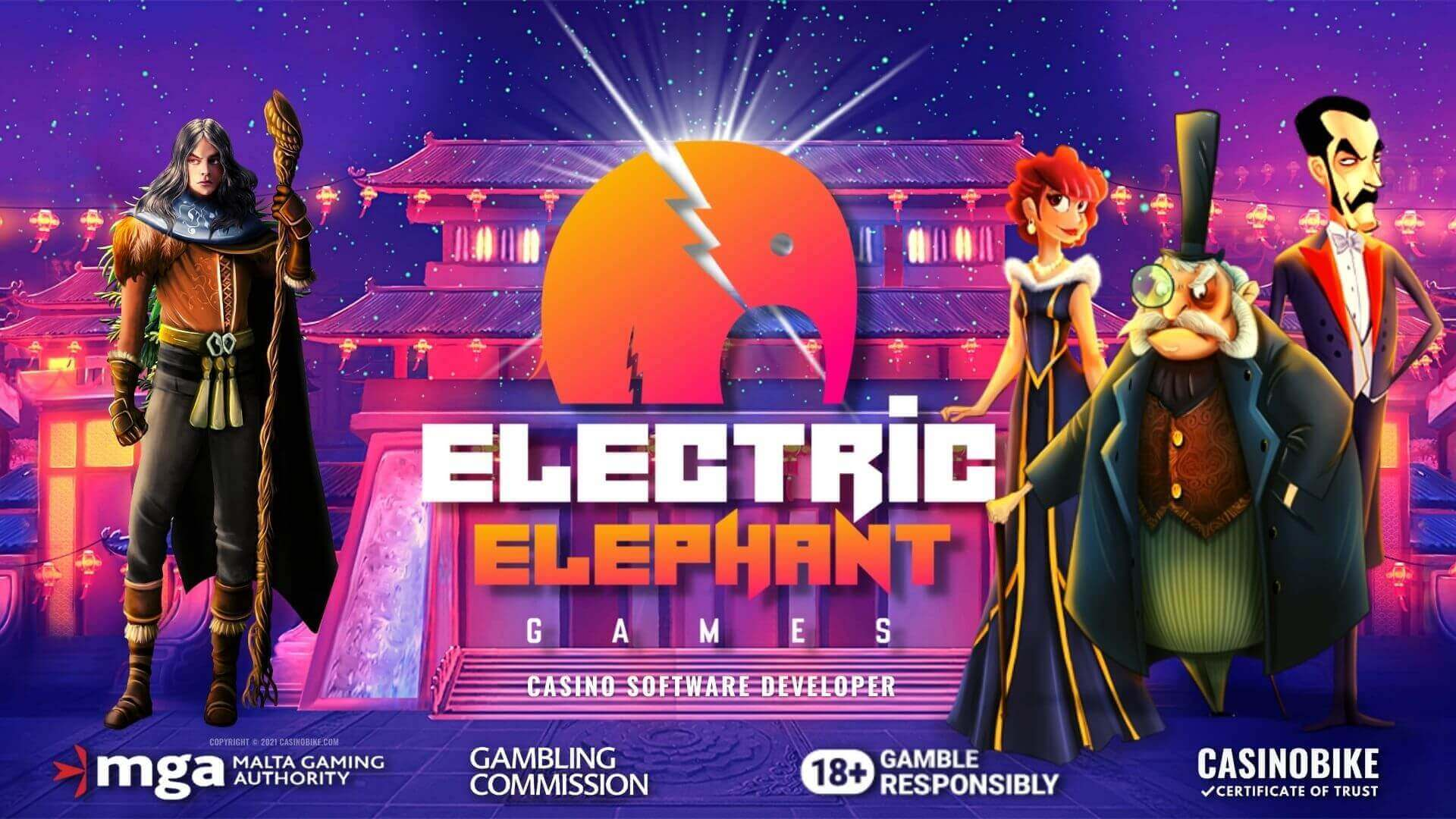 Electric Elephant Online Casino Software Developer