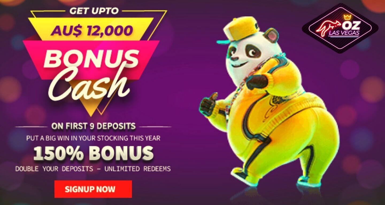 Oz Las Vegas Casino 150% Welcome Bonus