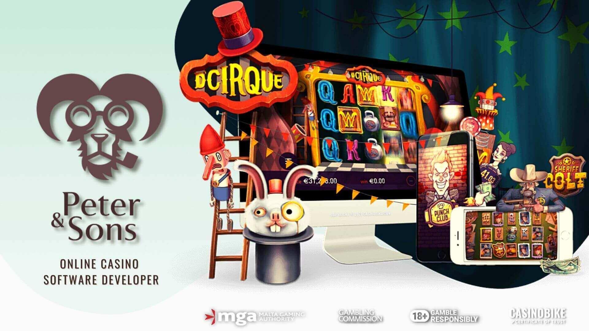 Peter & Sons Online Casino Software Developer
