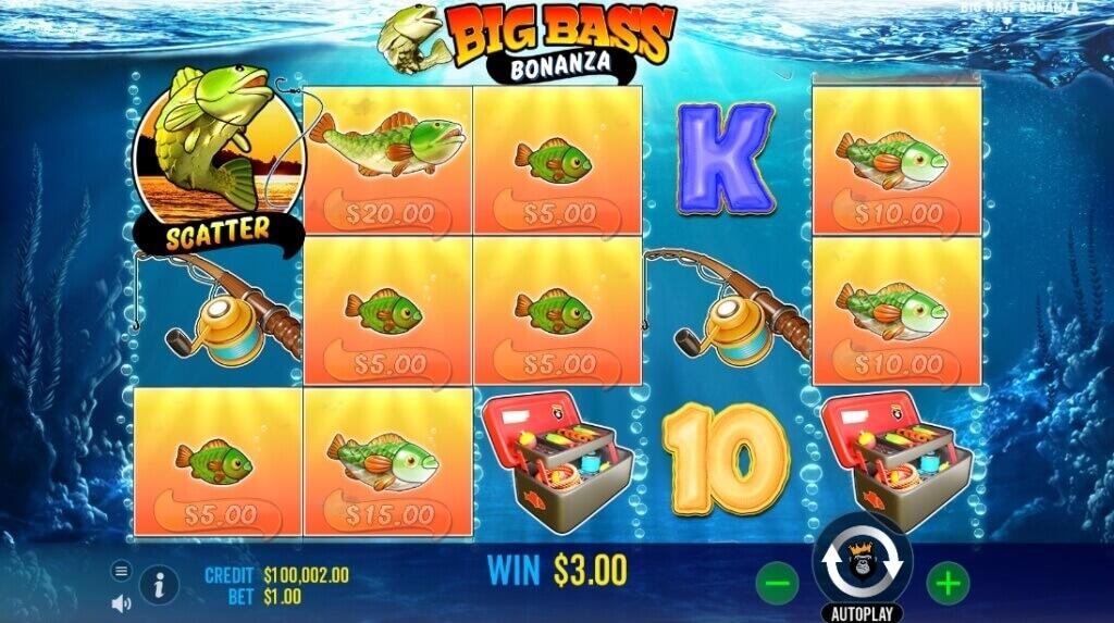 Big Bass Bonanza Slot Review