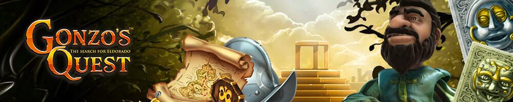 Gonzo's Quest Adventure Slot by NetEnt