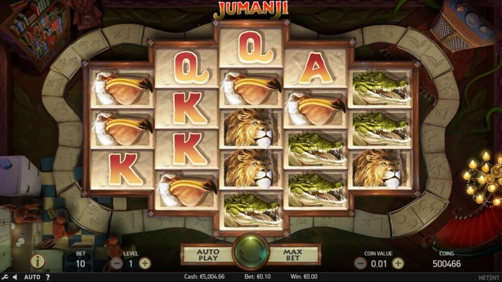 Jumanji Video Slot by NetEnt Review