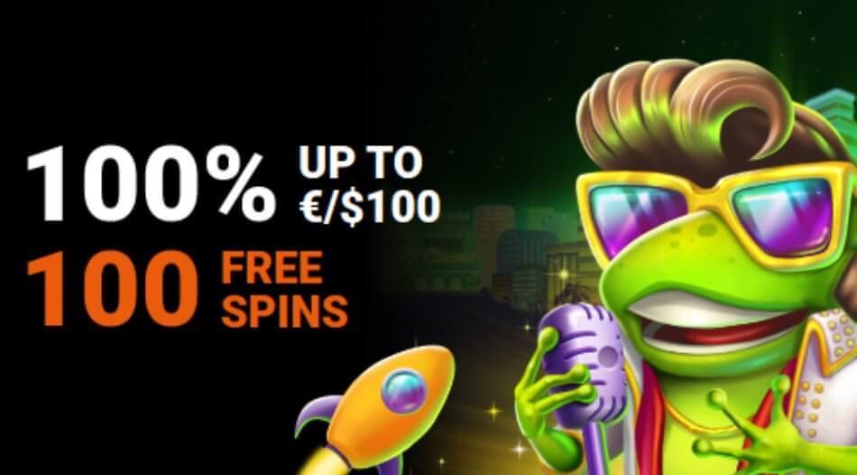 LevelUp Casino First Deposit Bonus