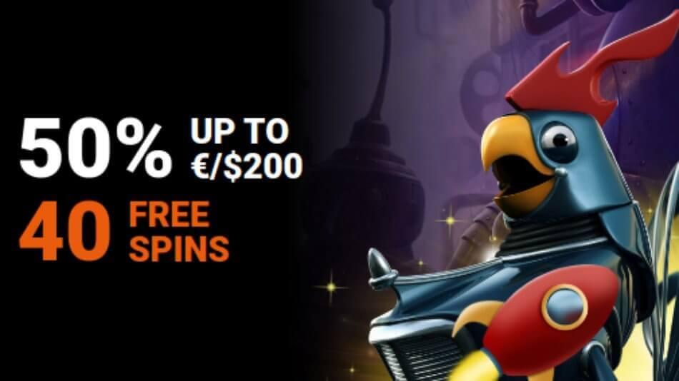 LevelUp Casino Reload Bonus Weekend