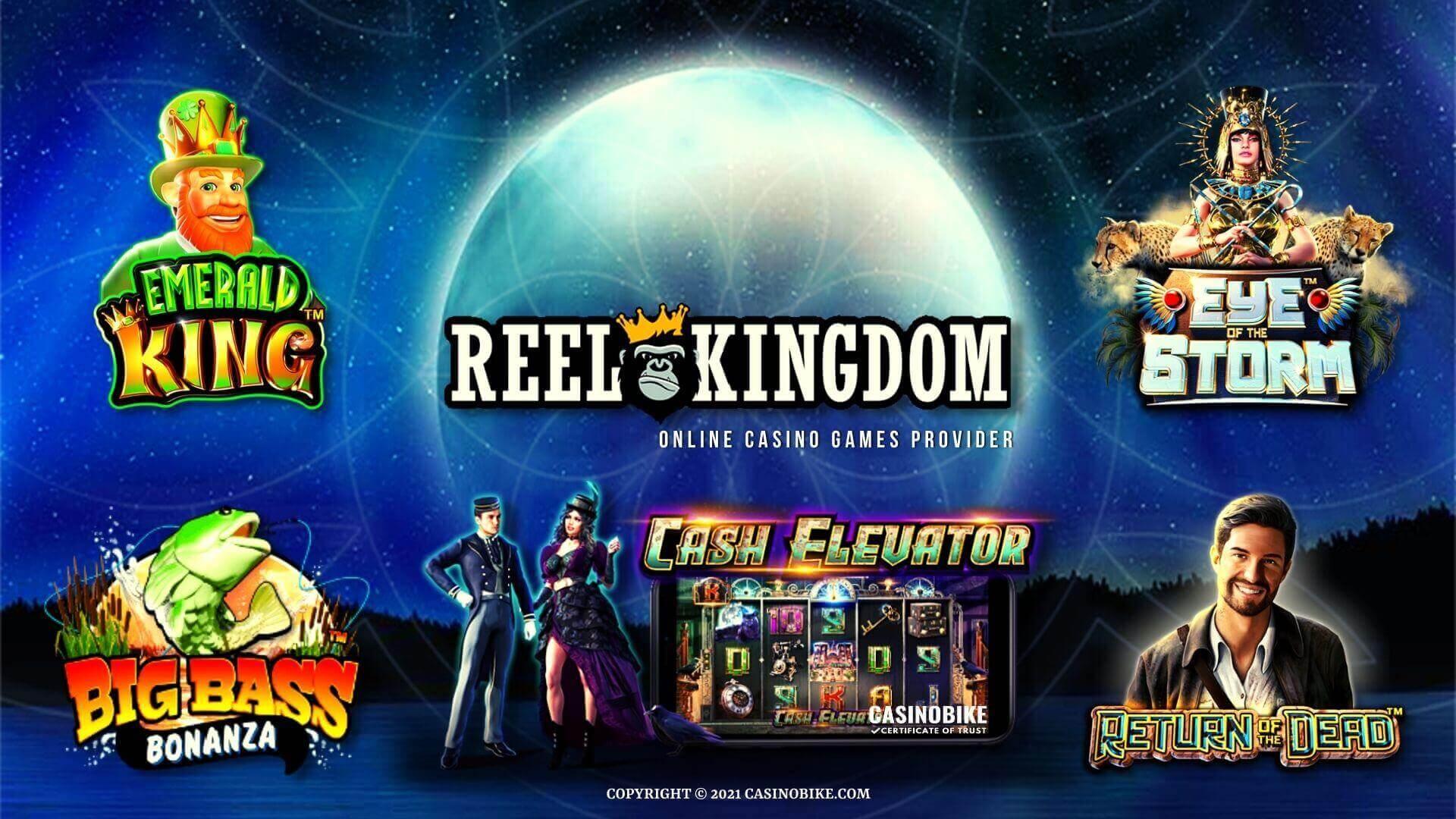 Reel Kingdom Casino Games Provider