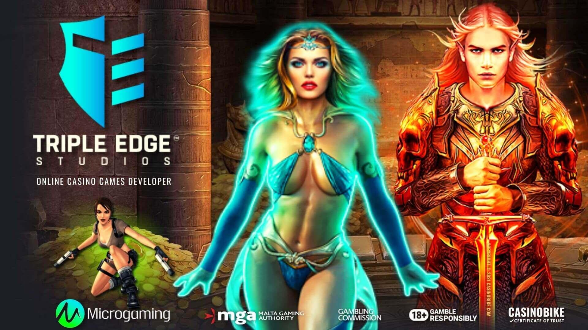 Triple Edge Studios Online Casino Software Developer