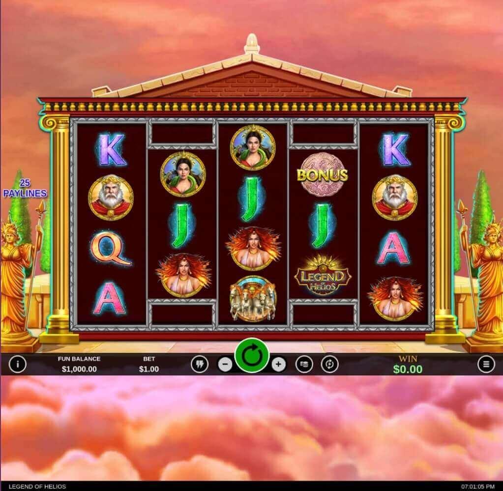 Legend of Helios Slot Review