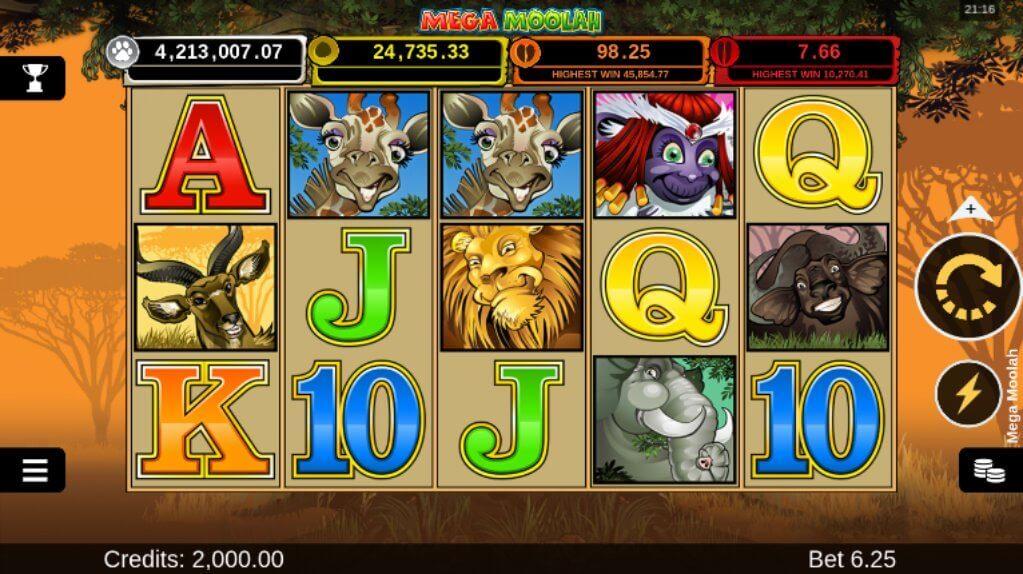 Mega Moolah Progressive Slot Review
