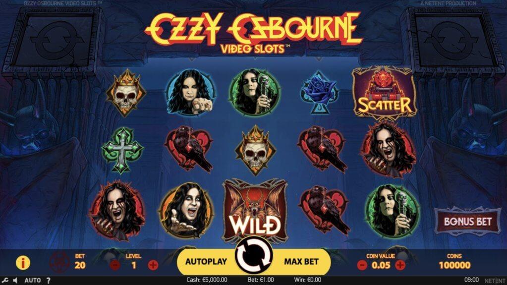 Ozzy Osbourne Slot by NetEnt Review