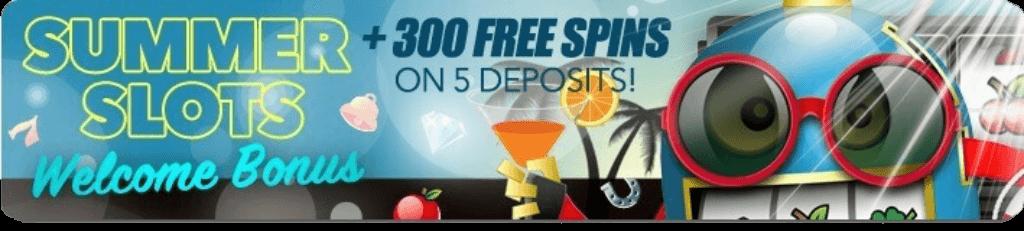 sloto cash casino 300 free spins