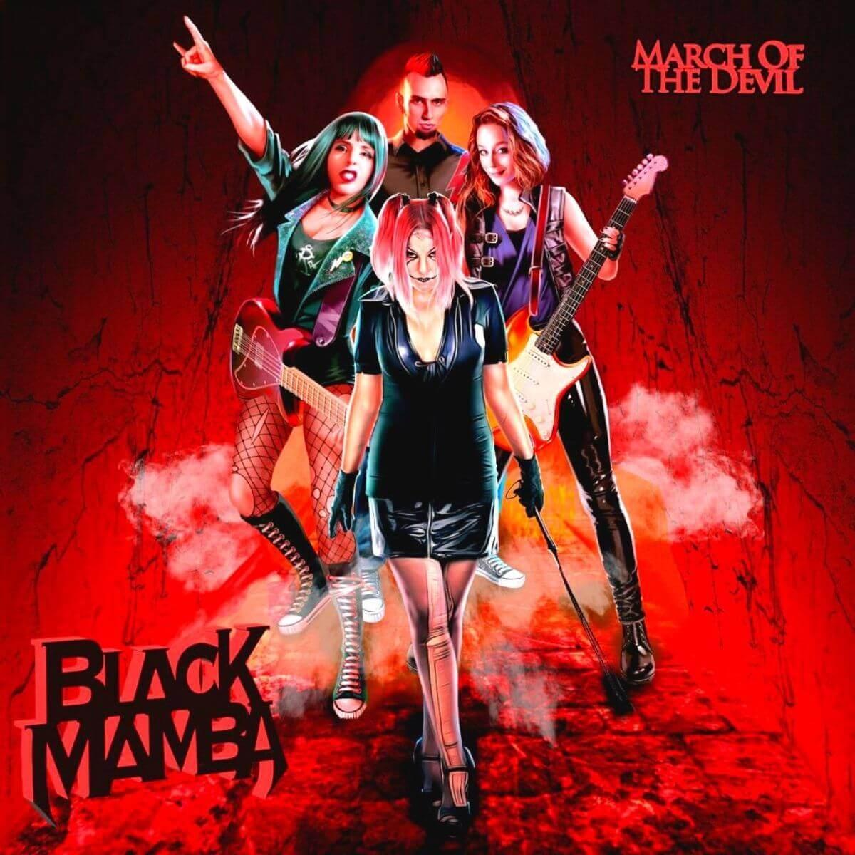 BLACK MAMBA - March Of The Devil