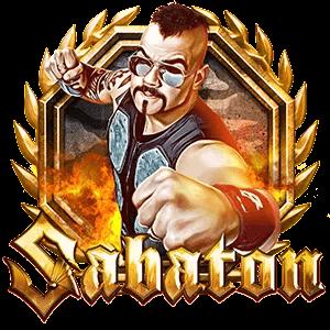 Sabaton Online Slot Logo