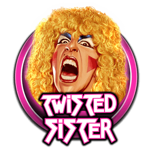 Twisted Sister Slot Logo